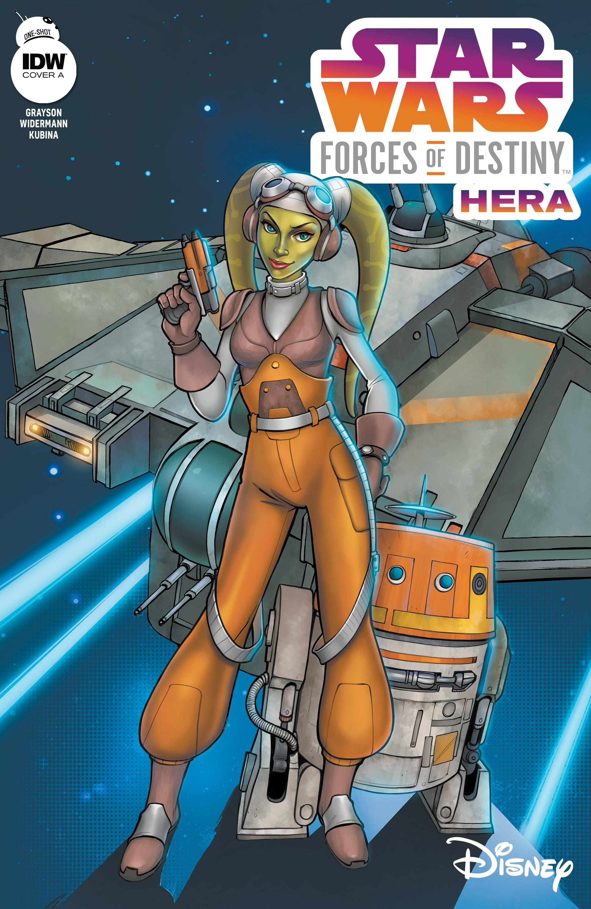 Star Wars Adventures - Forces of Destiny—Hera-000
