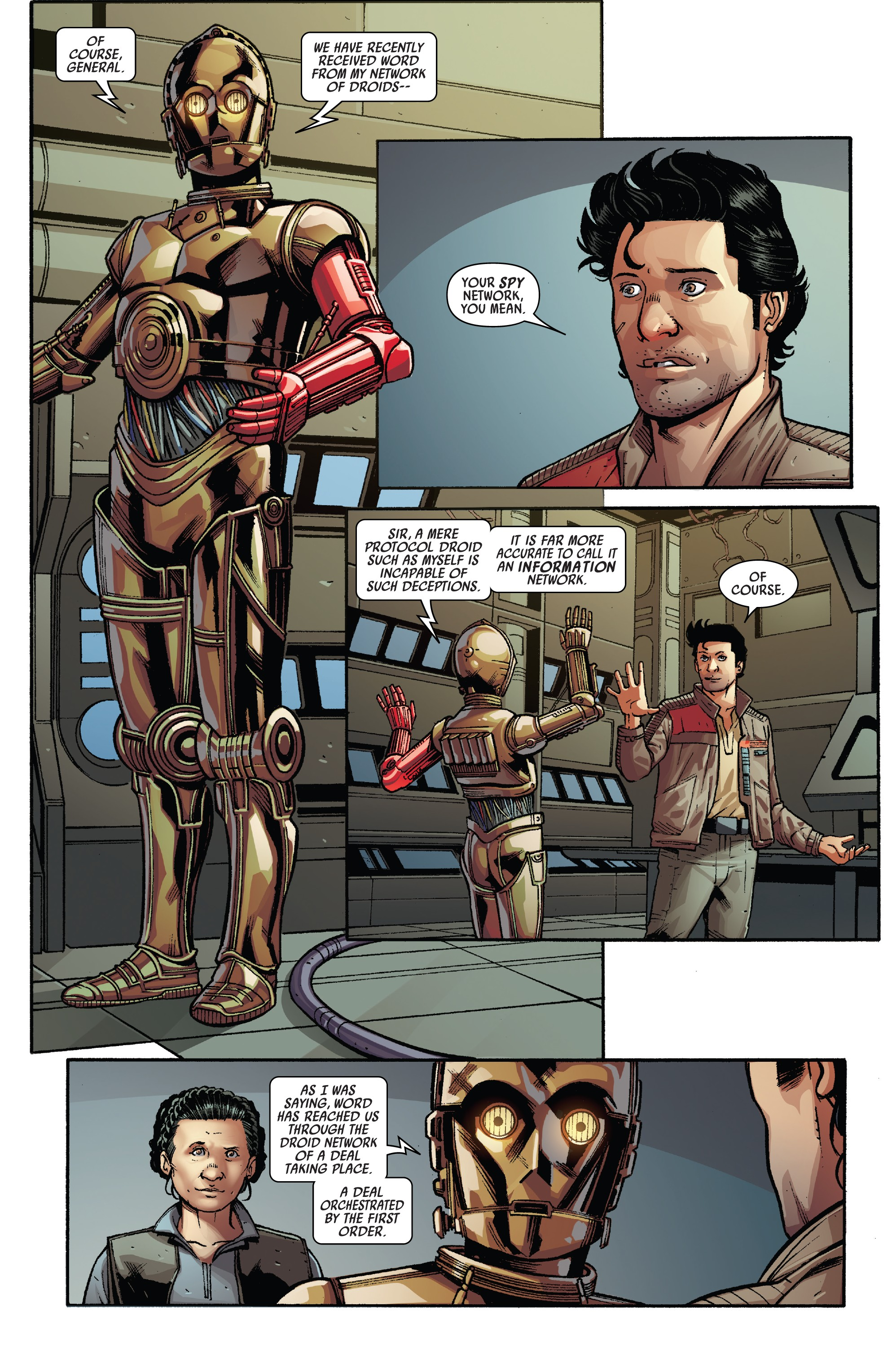Star Wars - Poe Dameron (2016-) Annual 002-003