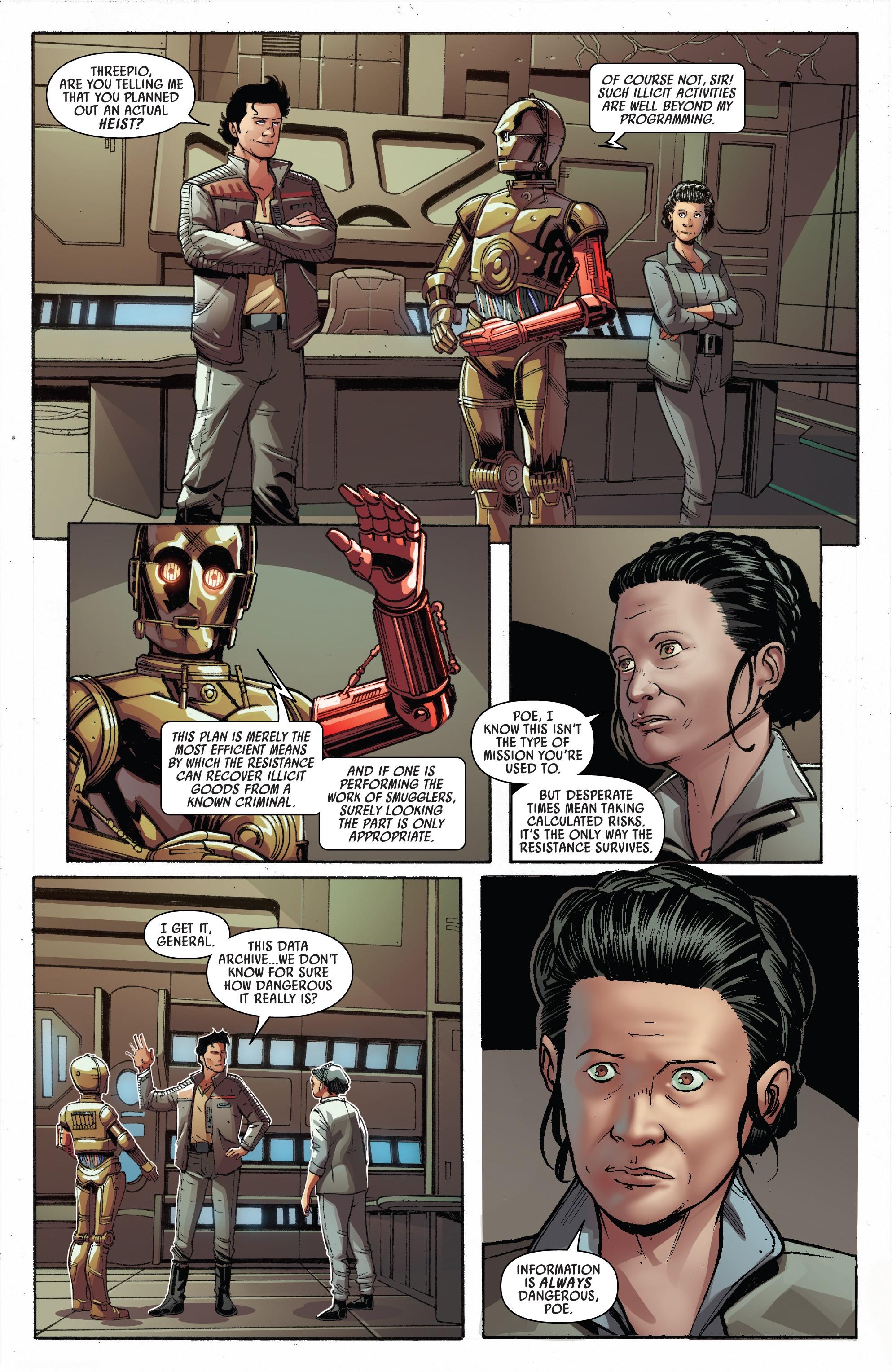 Star Wars - Poe Dameron (2016-) Annual 002-005