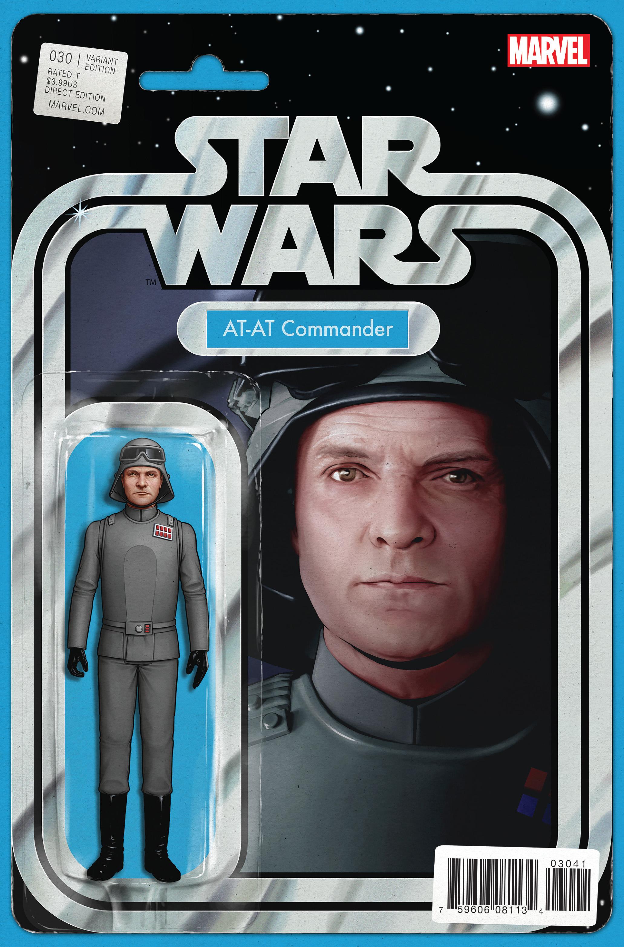 Star Wars 030-000b (John Tyler Christopher 'Action Figure' variant) (Mastodon)