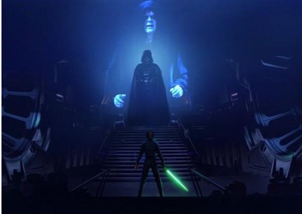 Emperor - Vader - Luke
