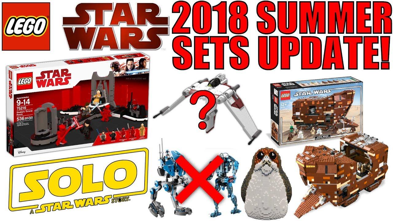 lego star wars summer 2018 sets rumors update