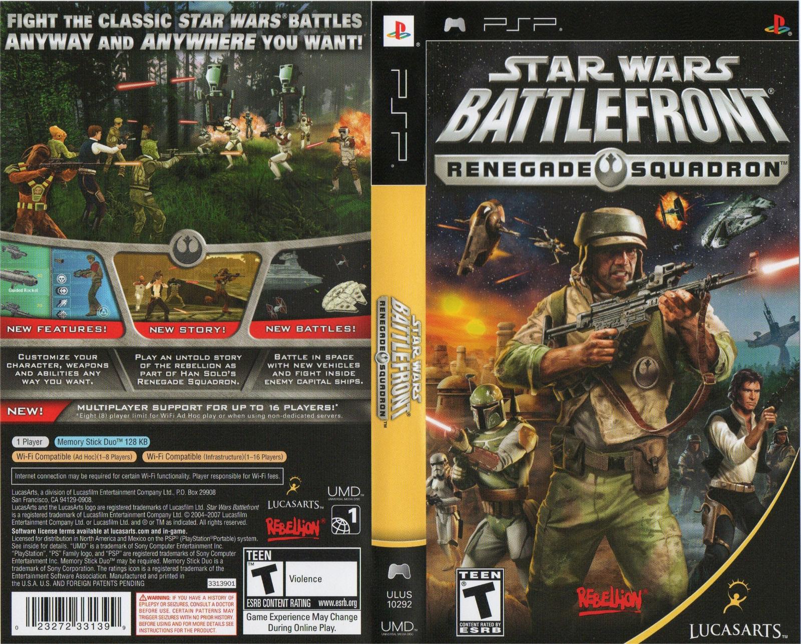 star wars battlefront renegade squadron psp