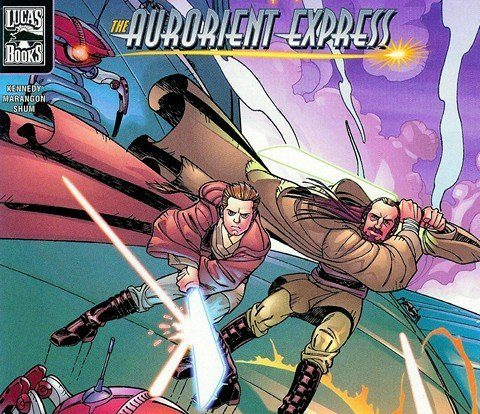 Star Wars – Qui-Gon & Obi-Wan – The Aurorient Express #1 – 2