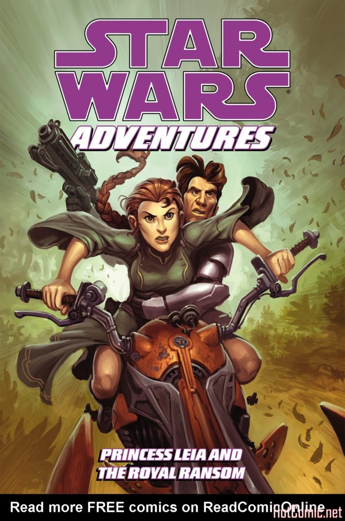 Princess Leia and the Royal Ransom - Star Wars Adventures