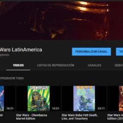 Star Wars Saga LatinAmerica YouTube Channel